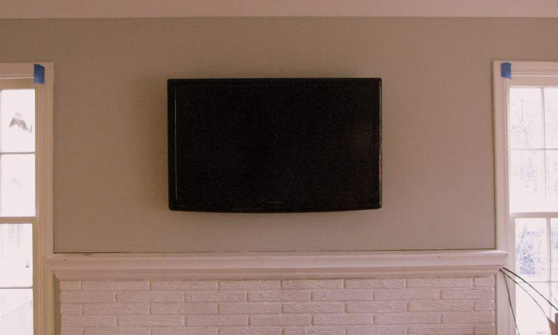 lg tv on wall. so exciting! lg tv on wall -