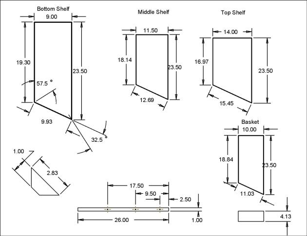 shoe rack plans diy