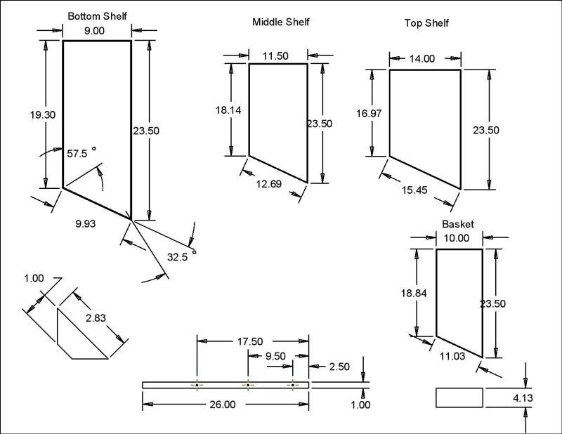 homemade shoe rack plans