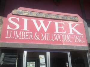 Siwek Lumber and Millwork, NE Minneapolis